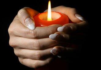 свечи и гадание