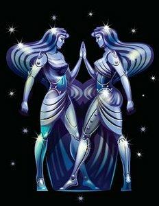 Знак зодиака близнецы.
