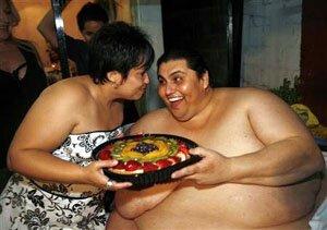 Самый толстый человек в мире: жизнь без комплексов!
